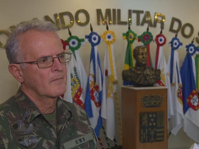 Comandante Militar do Sul diz confiar em negociação com caminhoneiros para evitar confrontos