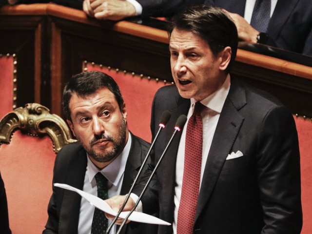 Italiens Premier Conte bietet Rücktritt an