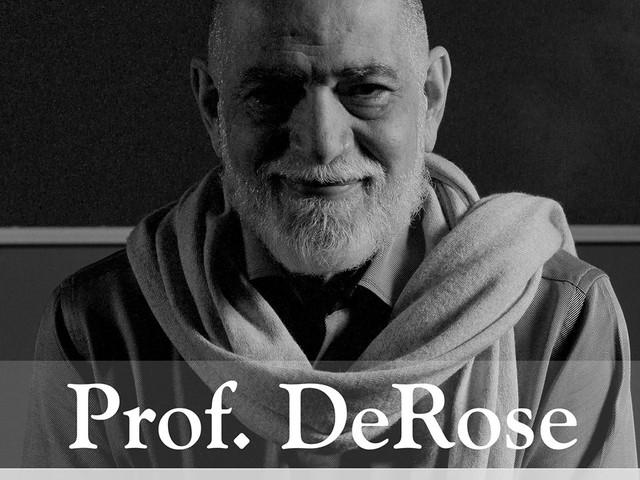 Professor DeRose comemora aniversário ministrando aula técnica para mais de 2.000 alunos