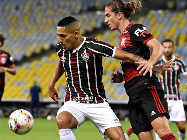 Veja fotos de Fluminense e Flamengo pela final da Taça Rio