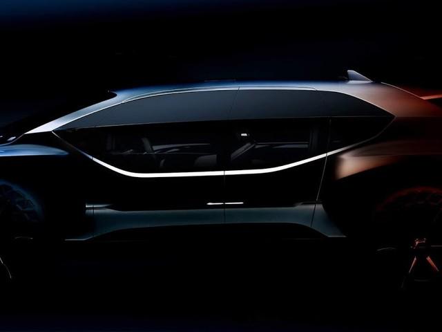 Audi mostra foto de off-roader elétrico conceitual - Frankfurt