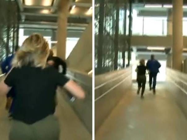 Globo coloca repórter para correr em rampa, cinegrafista não consegue acompanhar e perde o fôlego ao vivo