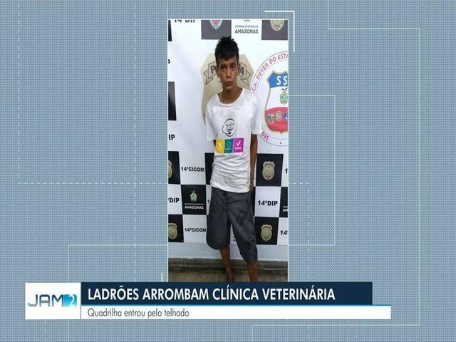 Dupla é presa suspeita de assaltar loja de pet shop na Zona Leste de Manaus em Manaus