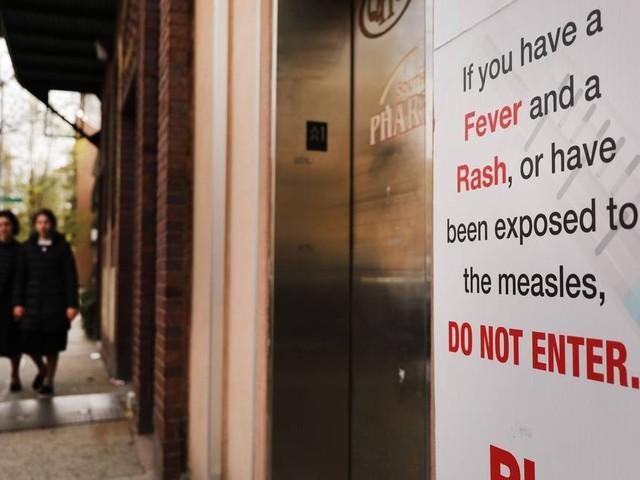 Surto de sarampo chega a 880 casos nos EUA, maior registro dos últimos 15 anos