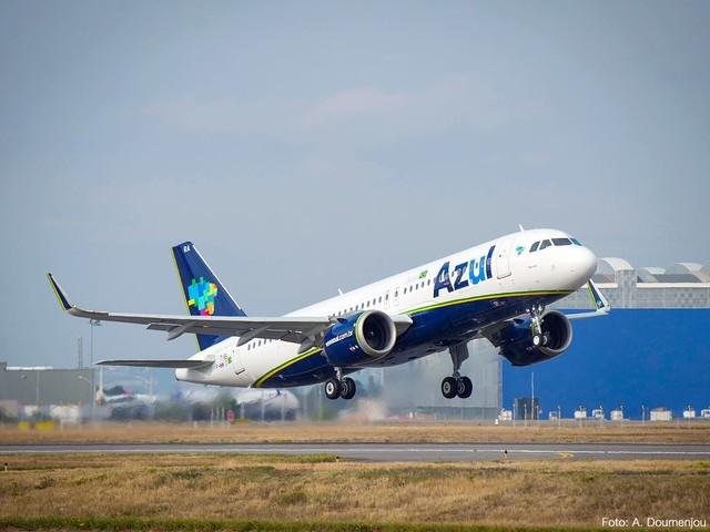 Azul terá voos diretos de Cuiabá para Recife durante a alta temporada