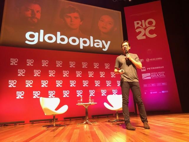 CEO do Globoplay fala no Rio2C sobre novas atrações da plataforma