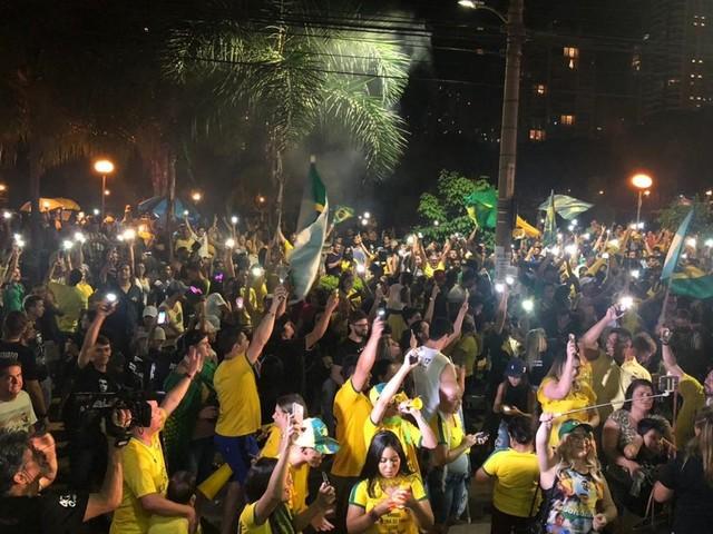 Eleito presidente, Jair Bolsonaro obtém 65,52% dos votos válidos em Goiás
