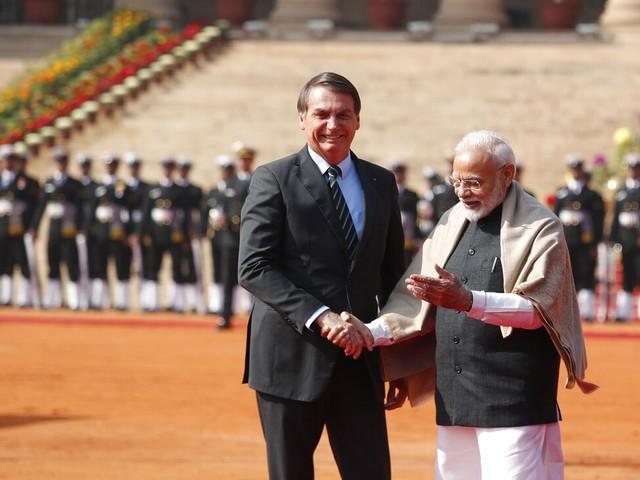 Brasil e Índia reforçam relação baseada em ''ideologia parecida''
