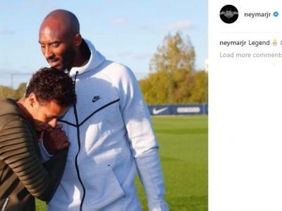 Encontro de Neymar com Kobe Bryant dura 2 dias e vai do basquete ao futebol