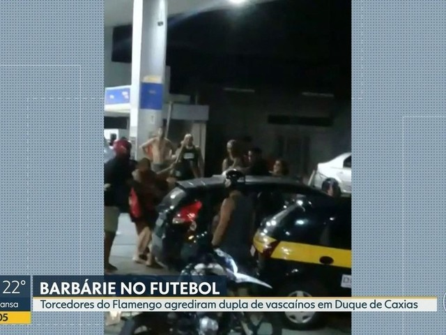 Polícia prende um dos suspeitos de ter agredido torcedores do Vasco na Baixada Fluminense