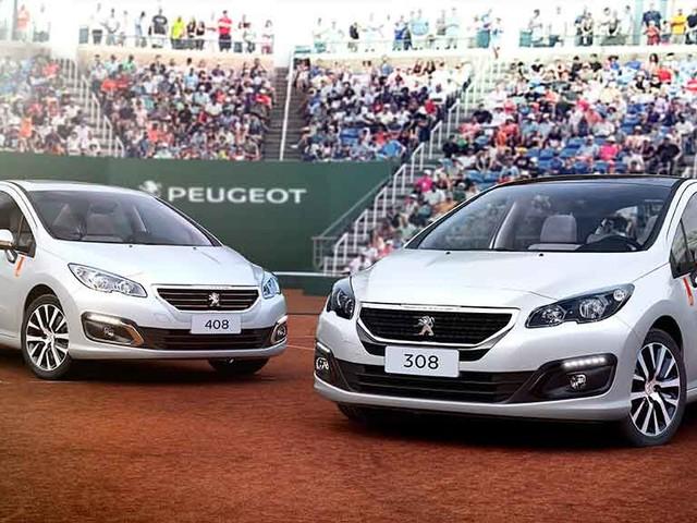 Peugeot 308 e 408 série limitada Roland Garros