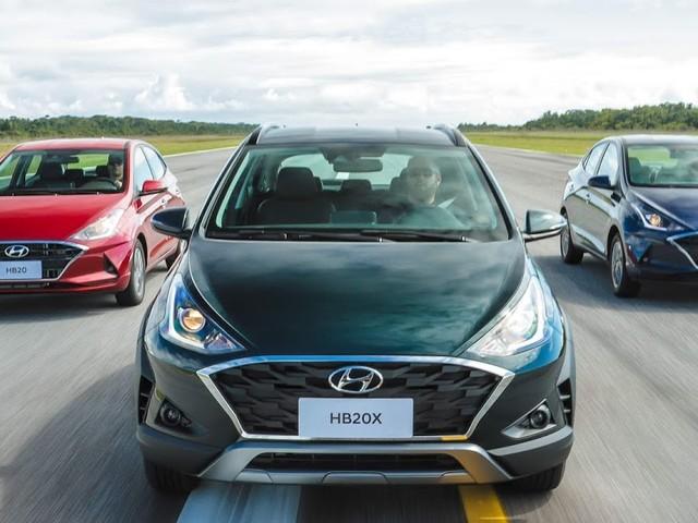 Novo Hyundai HB20, HB20S, e HB20X - tabela de preços