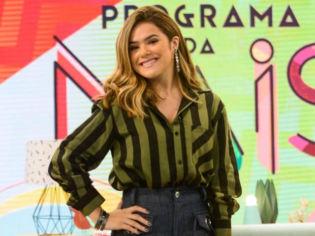 """Maisa Silva reclama: """"A Globo está dificultando o meu programa"""""""