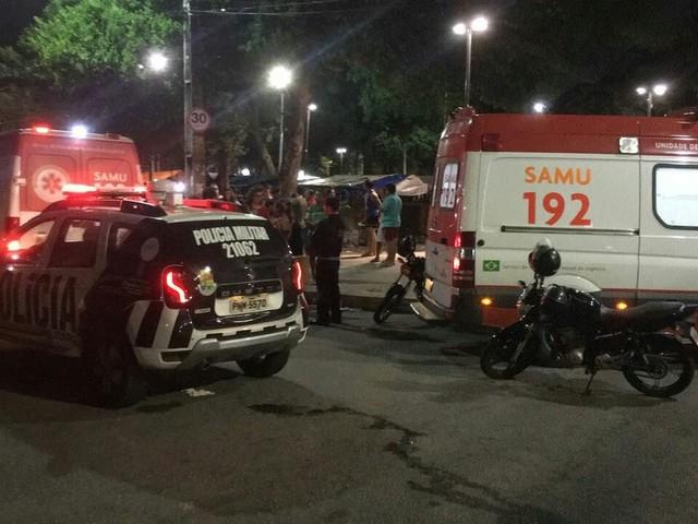 Tiroteio em praça de Fortaleza deixa três pessoas mortas e duas gravemente feridas