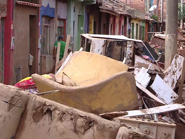 Chuva em Minas Gerais - 28 de janeiro de 2020