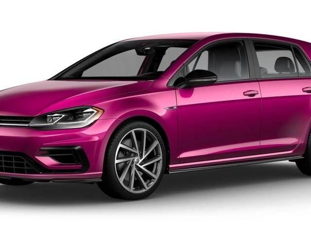 Volkswagen oferece cor de Lamborghini Huracán no Golf R