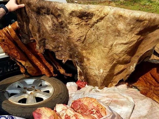 Dupla é presa por roubo de carne em São Francisco de Assis