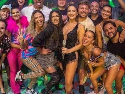 Anitta, Claudia Leitte, Xanddy e Carla Perez fazem show nos Estados Unidos; veja fotos