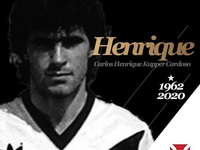 Ex-volante do Vasco, Henrique Kupper morre aos 57 anos