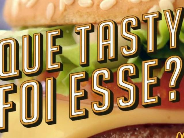 """Que Tasty foi esse?"": McDonald's adapta hit de Jojo Toddynho para divulgar novos sanduíches"