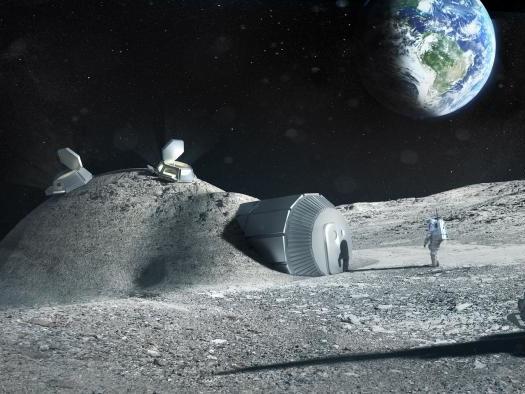 Rússia e Estados Unidos construirão, juntos, a primeira base fixa na Lua