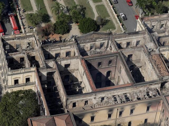 Prédio do Museu Nacional não tem seguro e brigada de incêndio