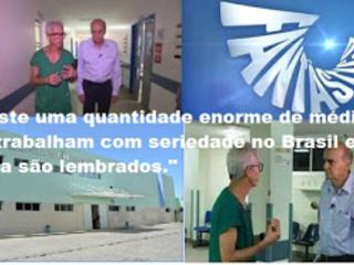 HGE- AL : Médico Paulo Valões conta a sua história no programa Fantástico
