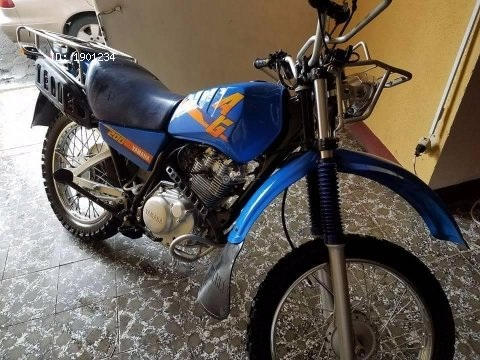 Moto yamaha ag200