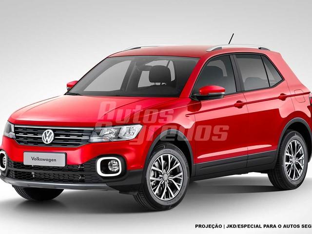 Confira nossa aposta para o visual do Volkswagen T-Cross