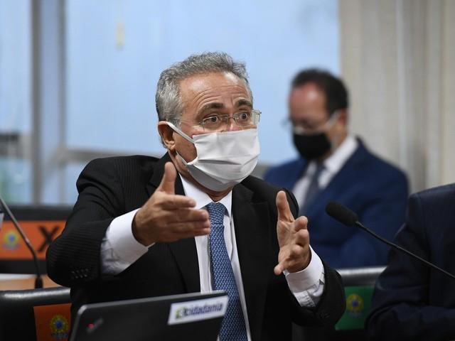 Se a CPI da Covid provar, Bolsonaro 'será responsabilizado sim', diz Renan