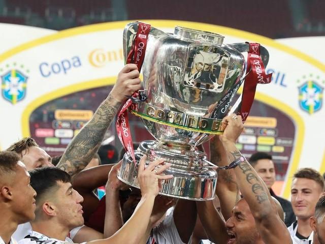 CBF pagará até R$ 72,8 milhões ao campeão da Copa do Brasil 2020