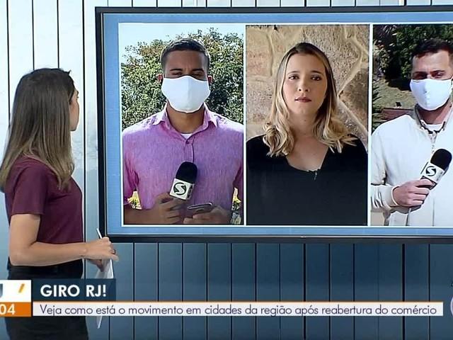 VÍDEOS: RJ1 TV Rio Sul de quarta-feira, 3 de junho