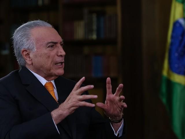 Temer diz que 'tranquilizou' líderes do Brics sobre Bolsonaro