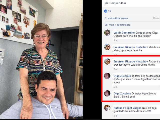 Moro e o maior foguetório do Brasil com a prisão de Lula