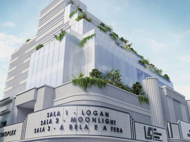 Centro empresarial que abrigará o Cine Leblon está em fase de estruturação