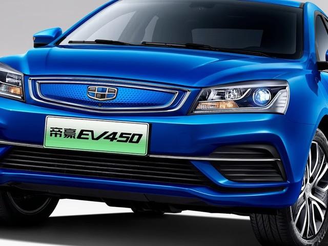 Geely lança nova versão do Emgrand EV450 elétrico - China
