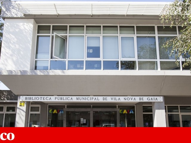 Câmara de Gaia avança com obras de requalificação na Biblioteca Municipal
