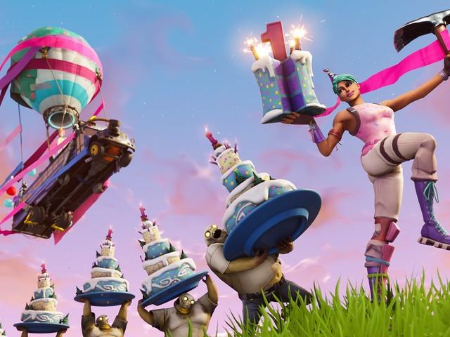 Fortnite celebra o primeiro aniversário com desafios dentro do jogo