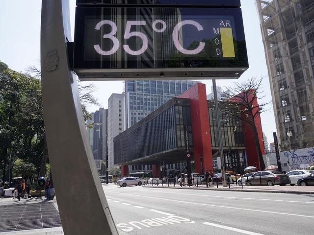 Temperatura média no Sudeste subiu 1,1ºC em 49 anos e principal motivo é efeito estufa, diz pesquisa da USP