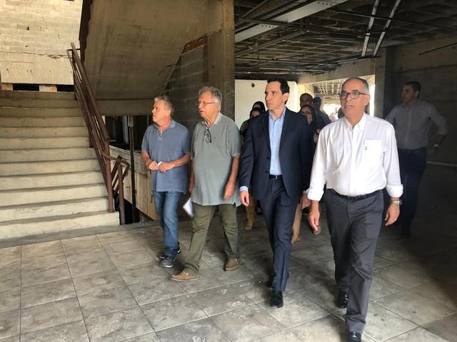 Comitiva do Governo de MG visita obras e equipamentos em cidades da Zona da Mata