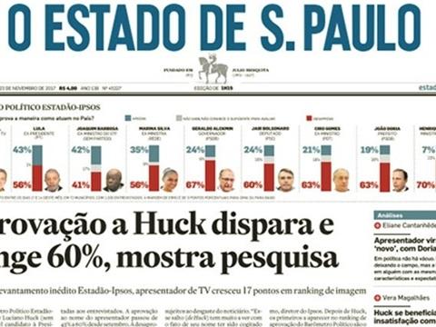 Estadão divulga manchete que esconde dados reveladores sobre as eleições de 2018