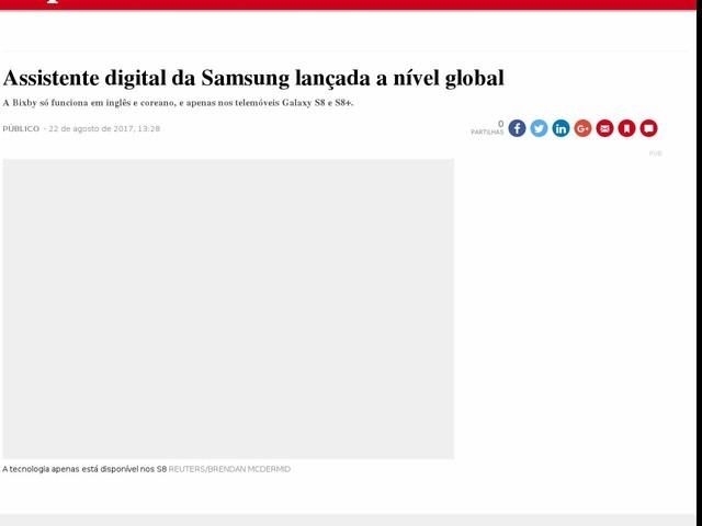Assistente digital da Samsung lançada a nível global