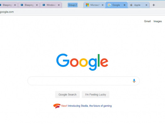 Google Chrome permite testar grupos de abas em versão desktop