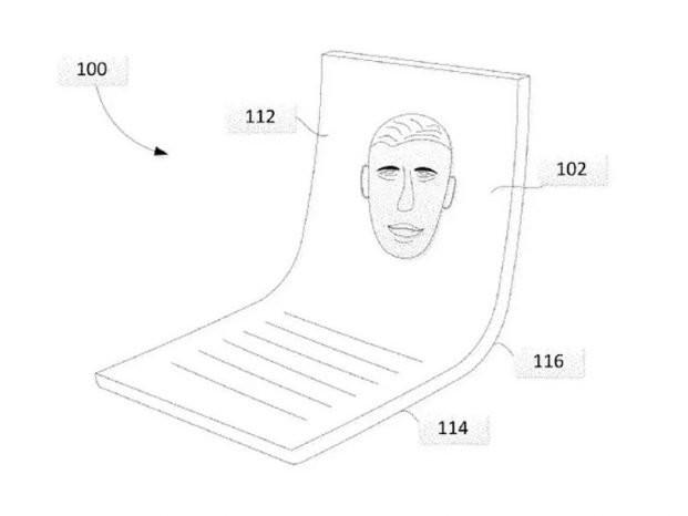 Google registra patente de celular duplamente dobrável