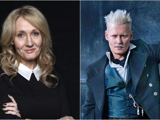 'Os Crimes de Grindelwald': J.K. Rowling fala pela primeira vez sobre Johnny Depp