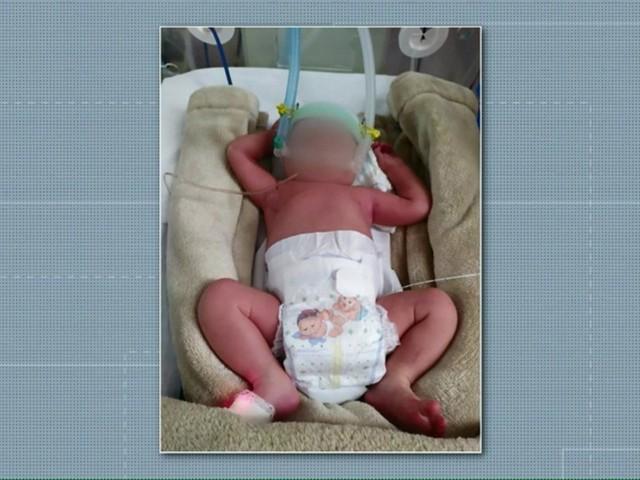 Bebê é encontrada por policiais em caixa de sapato, em Toledo