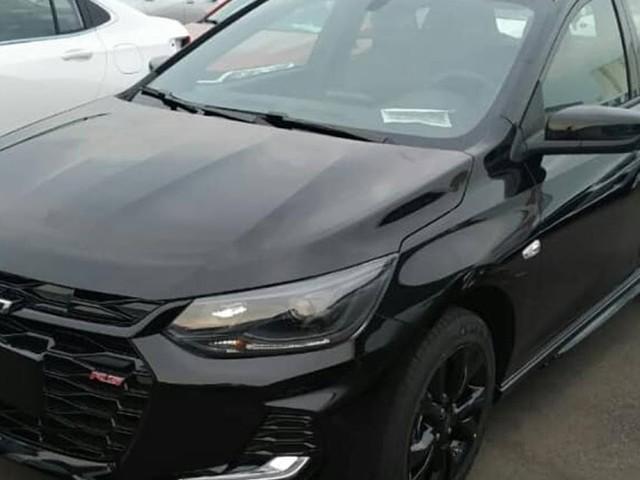 Novo Chevrolet Onix RS 2020 Turbo Flex: fotos divulgadas antes do lançamento