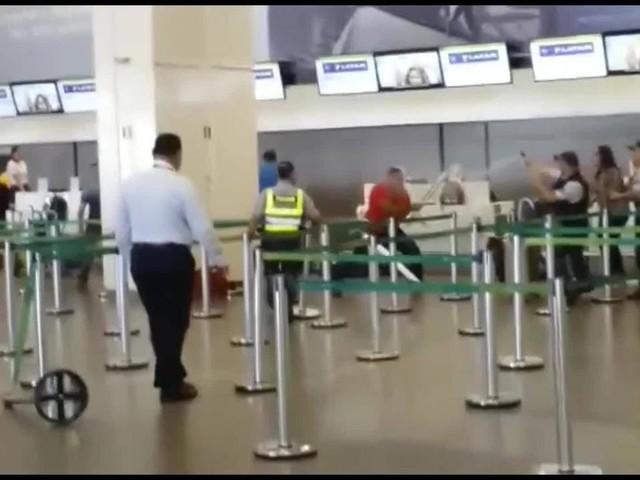 Depois de perder voo, bombeiro agride PM e quebra guichê do Aeroporto de Brasília