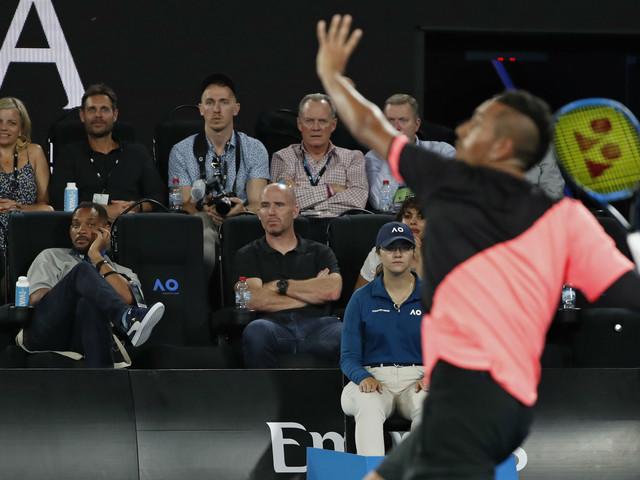 """Will Smith rouba cena na Austrália e tenista brinca: """"nervoso com ele aqui"""""""
