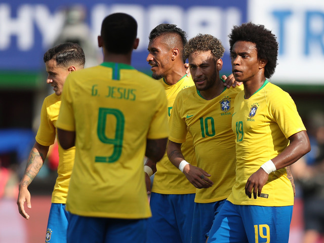 Brazil to Play First Match on Sunday in 2018 FIFA World Cup